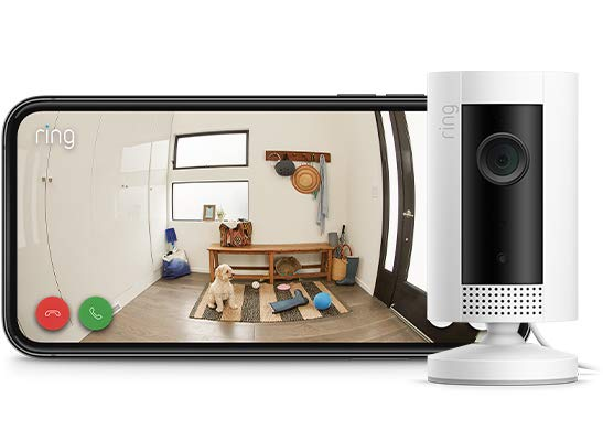Secure your home with Ring Indoor Camera