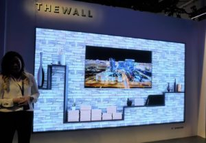 """Samsung Presents Biggest Ever TV Screen """"The Wall"""""""