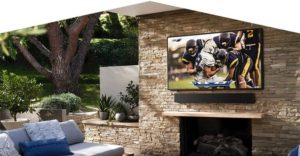 Samsung's first outdoor 4KQLED weatherproof TV called The Terrace
