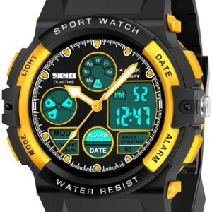 SOKY Cool Cheap Sport Digital Watch for 6-15 Year old Boys