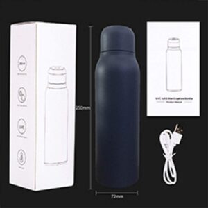 Drink Virus and Bacteria free clean water with Self Cleaning Water bottle